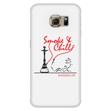 Smoke and Chill Phone Case - White