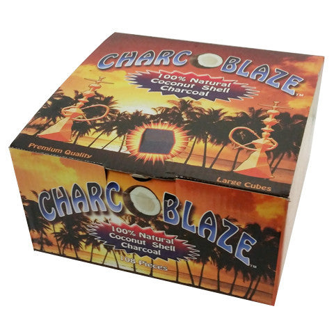 Charco Blaze Hookah Charcoal 108pc Wholesale