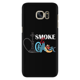 Smoke and Chill Hookah 2 Phone Case - Black