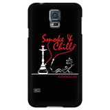 Smoke and Chill Phone Case - Black
