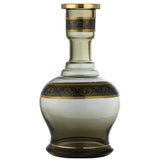 Golden Leaves Hookah Vase