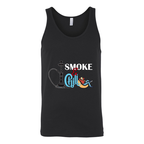 Smoke & Chill Unisex Hookah Tank Top