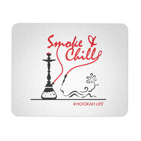 Smoke and Chill Hookah Mouse Pad