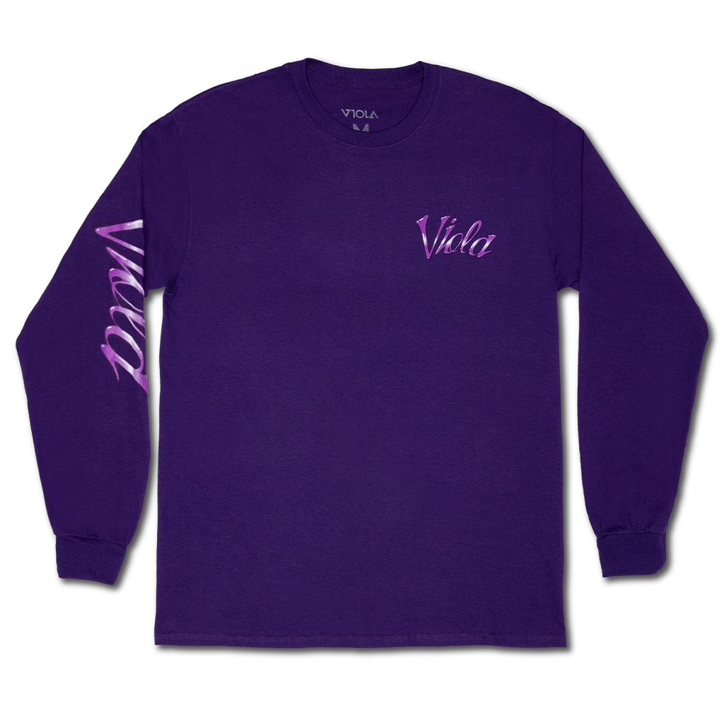 Airbrush Long Sleeve - Purple