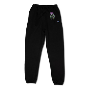 Airbrush Sweatpants - Black
