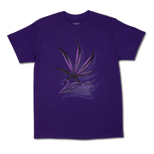 Leaf Tee - Purple