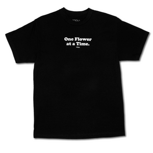 One Flower Tee - Black
