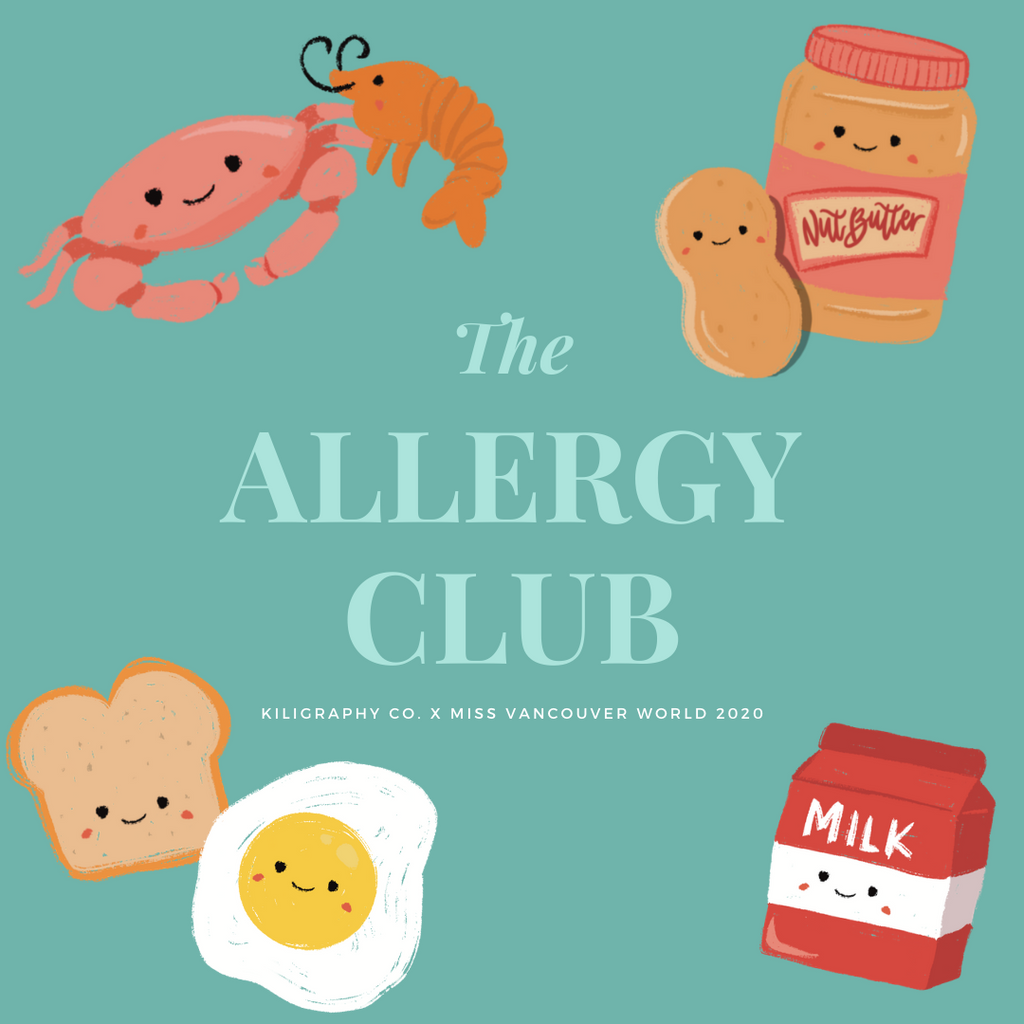 Food Allergy Pins (Double Set)