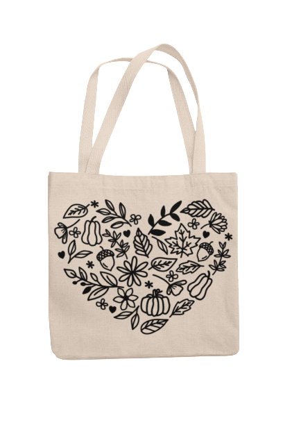 Fall Icon Tote
