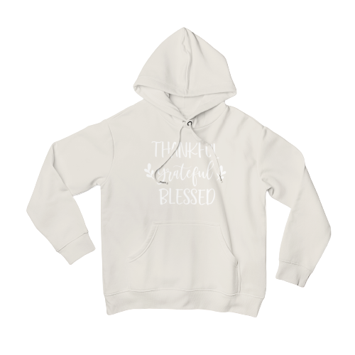 Grateful, Thankful, Blessed Hoodie