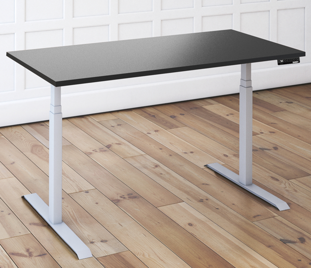 solid sit stand desk