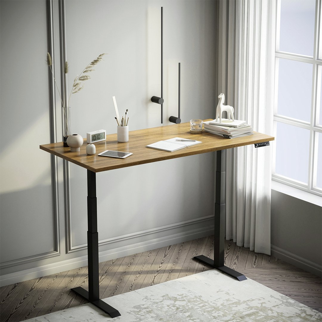 rubberwood stand up desk