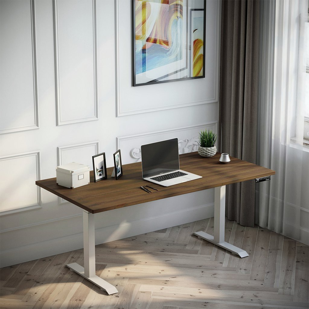 rustic pine stand sit desk