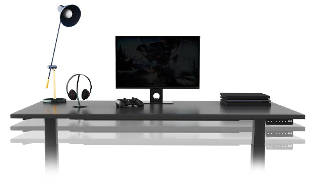 cheap sit stand gaming desk