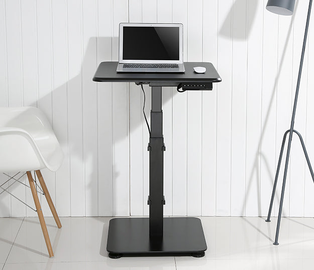 sit stand desk for small space