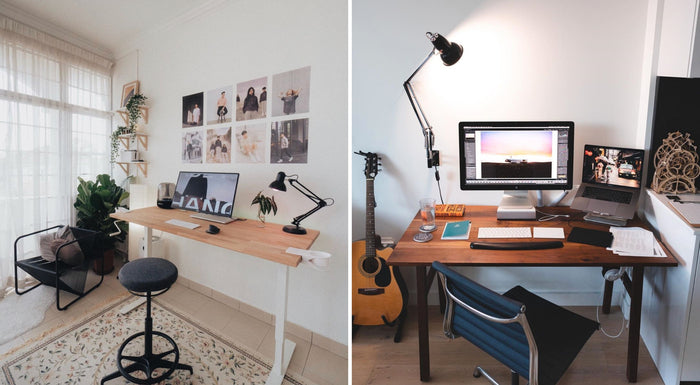 electric sit stand desk