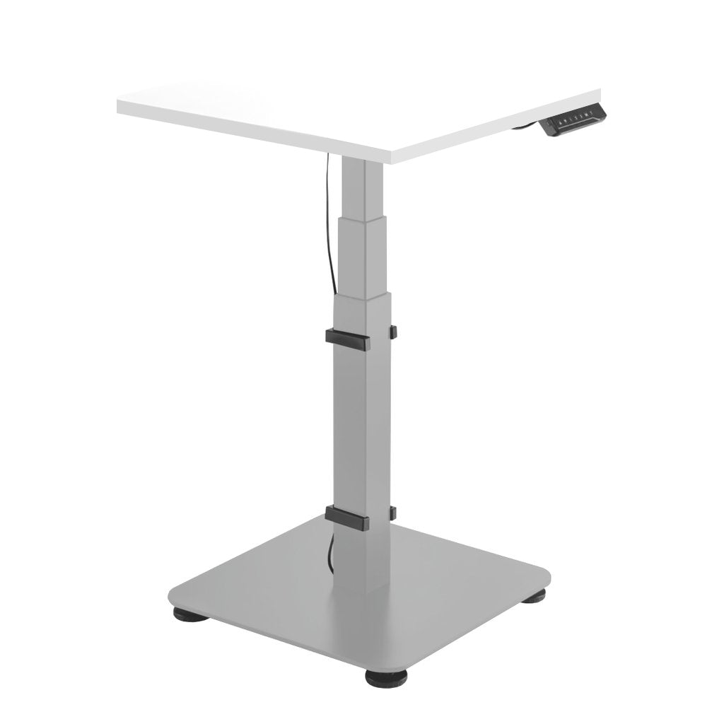 Desky Single Sit Stand Pedestal Desk