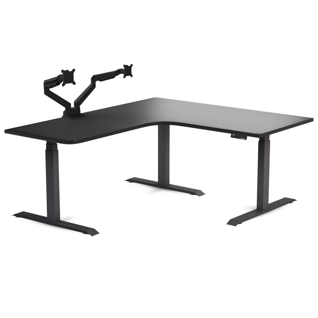 stand up gaming desk l shaped