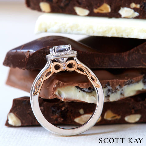 ring and chocolate