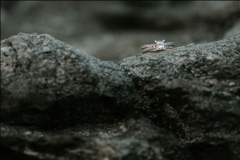 ring on rock