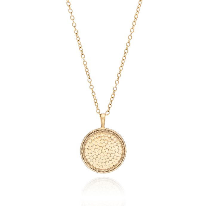 Anna Beck Classic Large Medallion Necklace