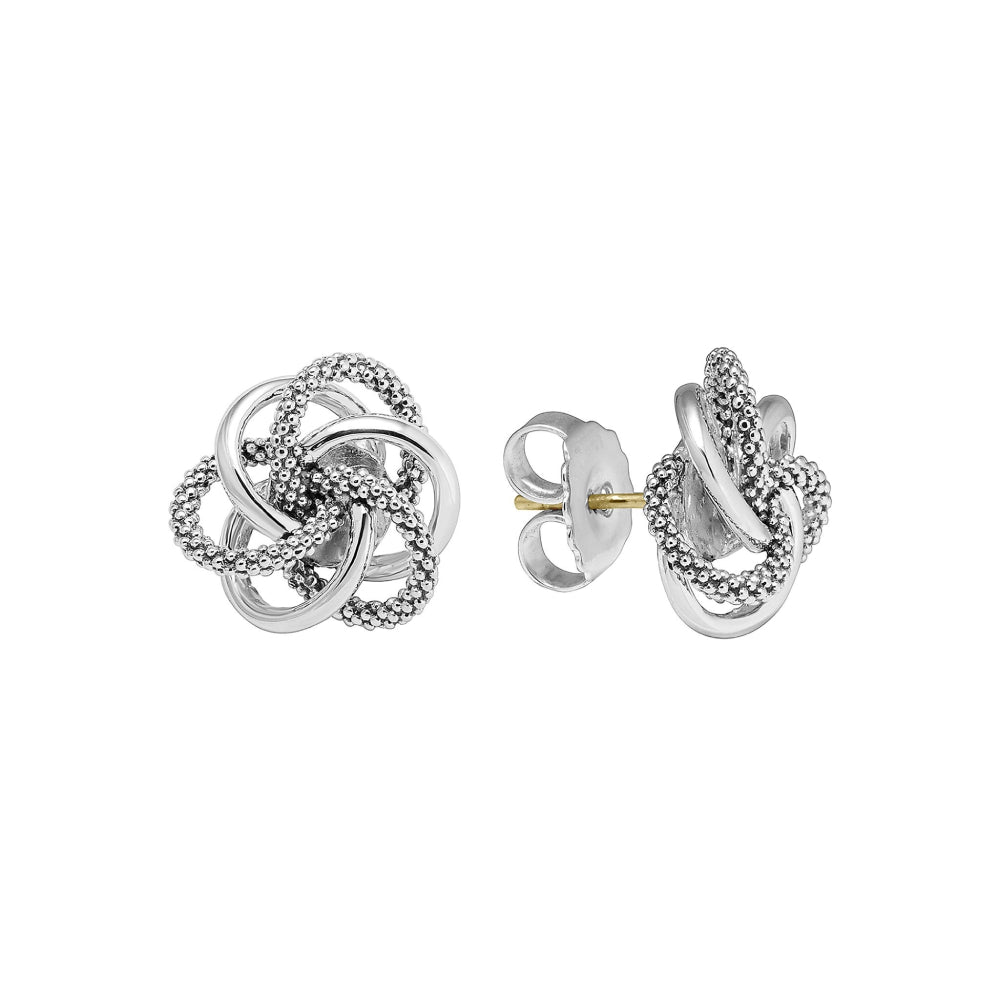 Lagos Love Knot Large Stud Earring