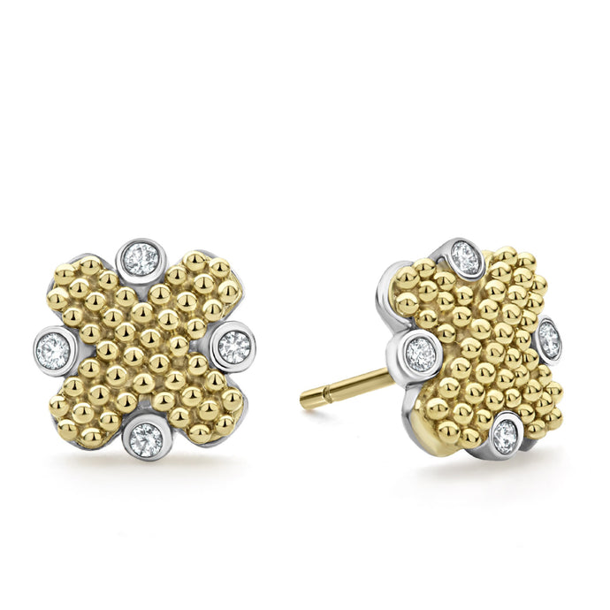 Lagos Diamond Caviar Earrings
