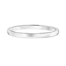 Load image into Gallery viewer, 14k Plain Gold Wedding Band 2mm