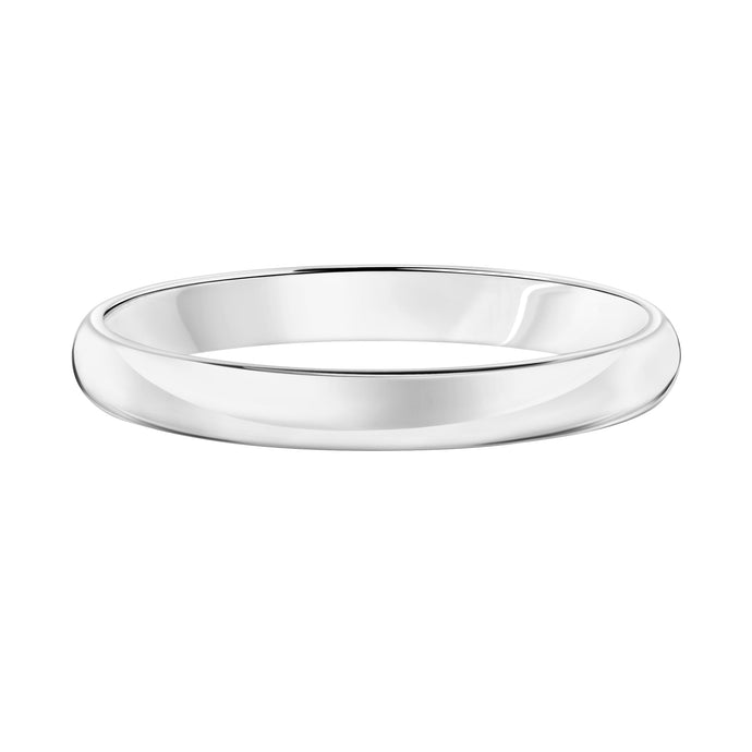 14k Plain Gold Wedding Band 3mm