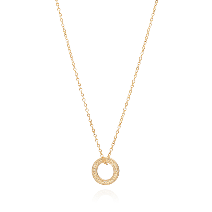 "Anna Beck Circle of Life Open ""O"" Charity Necklace"