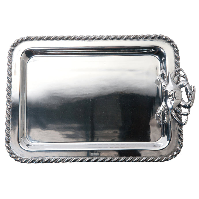 Salisbury Pewter Masthead Crab Medium Tray