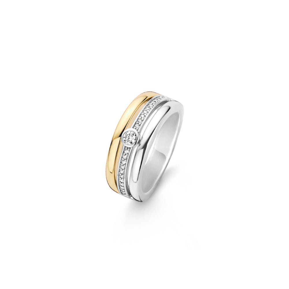 TI SENTO - Milano Two-tone Ring 12094ZY