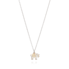 Load image into Gallery viewer, Anna Beck Small Elephant Charm Necklace