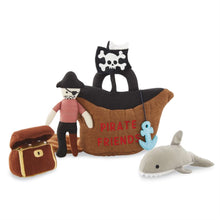 Load image into Gallery viewer, Mud Pie Pirate Friends Plush Set