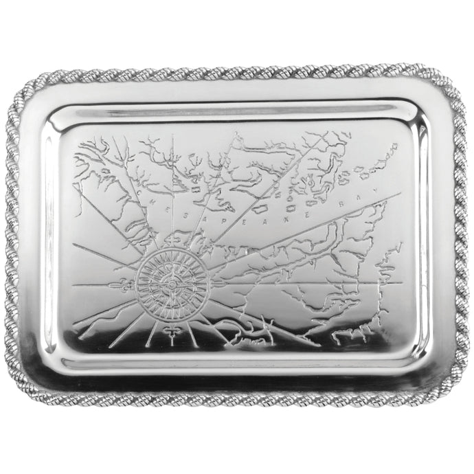 Salisbury Pewter Latitudes Medium Chesapeake Tray
