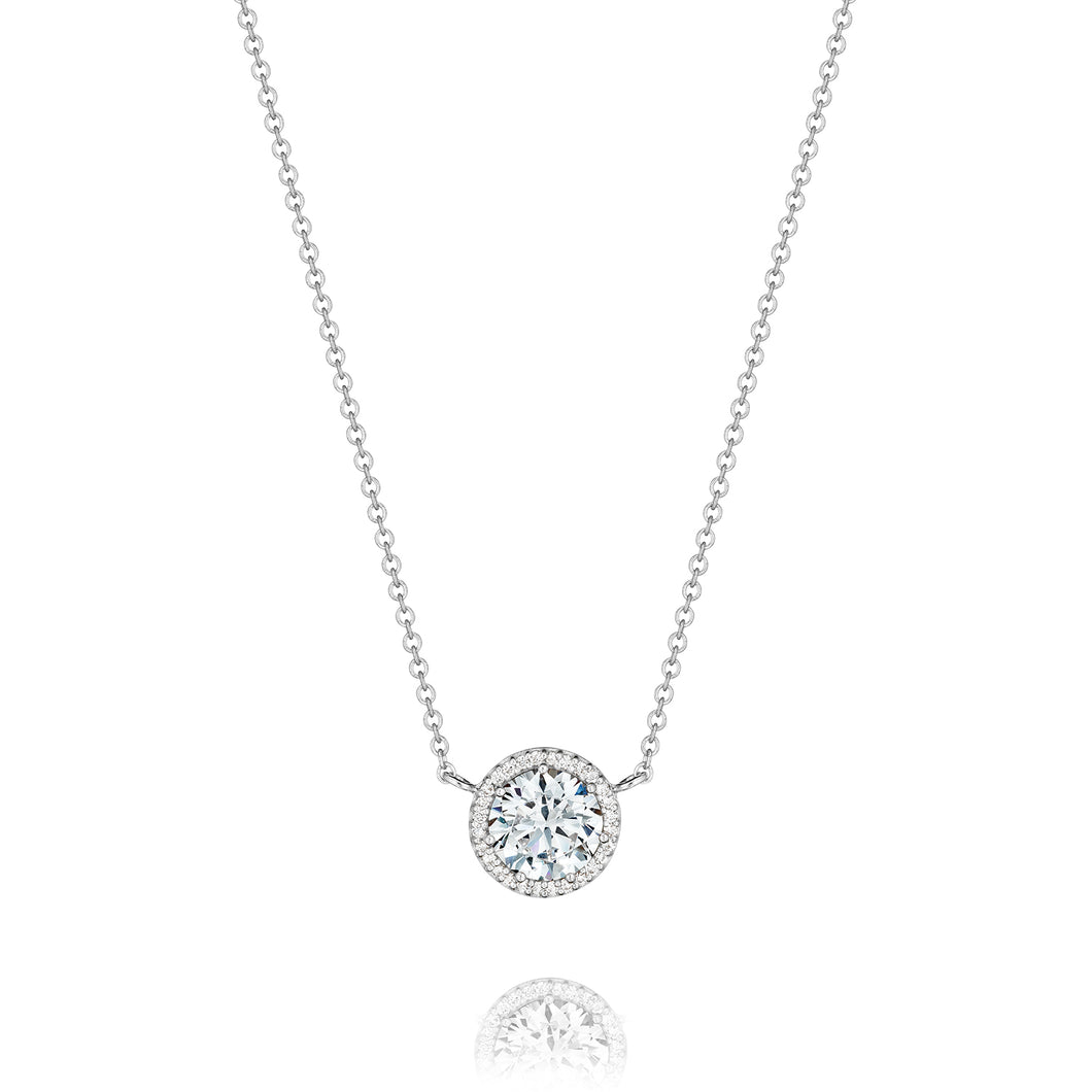 Tacori Bloom Diamond Necklace 14kt White Gold