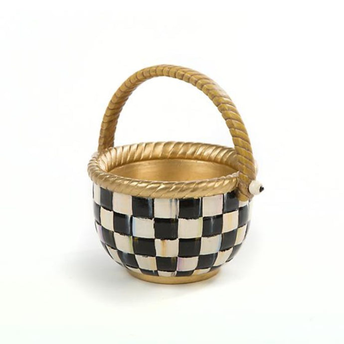 MacKenzie-Childs Courtly Check Basket - Small