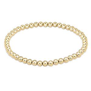 enewton Classic Gold 4mm Bead Bracelet
