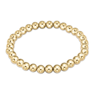enewton Classic Gold 6mm Bead Bracelet