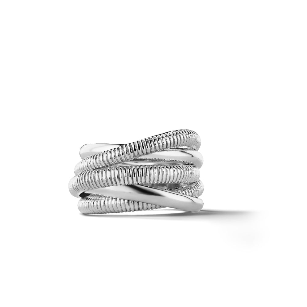 Judith Ripka Eternity Highway Five Band Ring