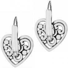 Load image into Gallery viewer, Brighton Contempo Heart Leverback Drop Earrings