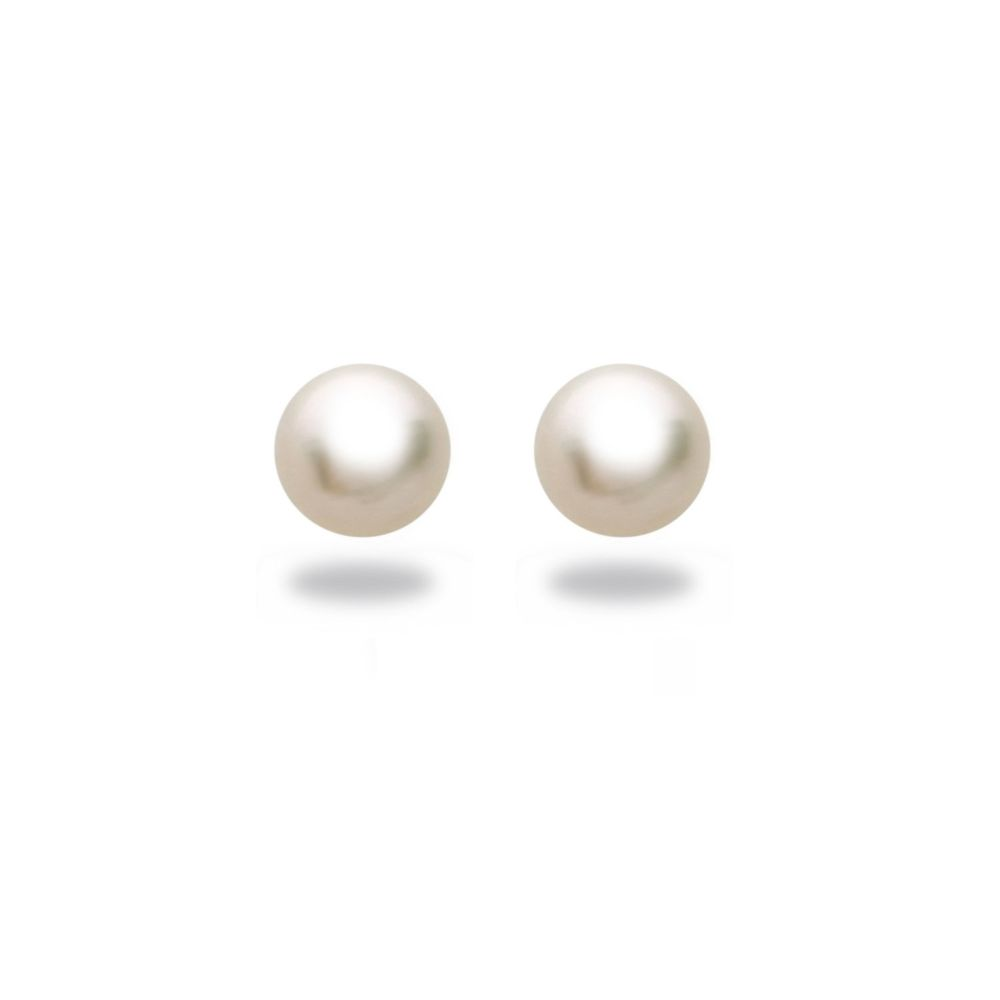 Tara Akoya Pearl Stud Earrings