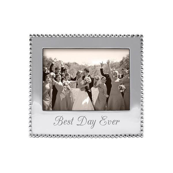Mariposa Best Day Ever Beaded 5x7 Frame