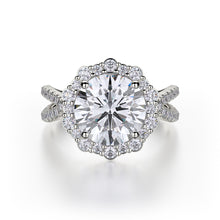 Load image into Gallery viewer, Michael M Defined Engagement Ring