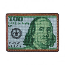 Load image into Gallery viewer, Smathers & Branson Benjamin Needlepoint Card Wallet