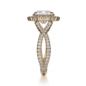 Michael M Defined Engagement Ring