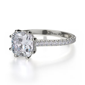 Michael M Crown Engagement Ring