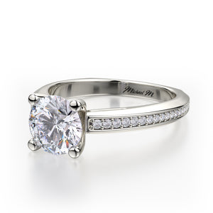 Michael M Monaco Engagement Ring