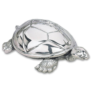 Reed & Barton Tortoise Silverplate Musical Box