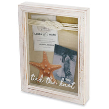 Load image into Gallery viewer, Mud Pie Tied the Knot Shadow Box